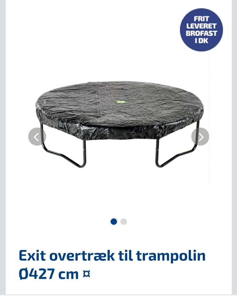 Trampolin, Exit Trampolin Ø 427cm