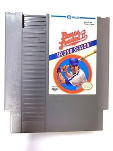 Bases Loaded II 2 Second Season ORIGINAL Nintendo NES Game Tested Working