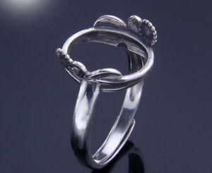 12-15mm-925-STERLING-SILVER-Semi-Mount-Base-Blanks-ring-wedding-Setting-P2219