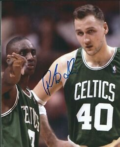 Signed  8x10 DINO RADJA Boston Celtics Autographed Photo w/COA