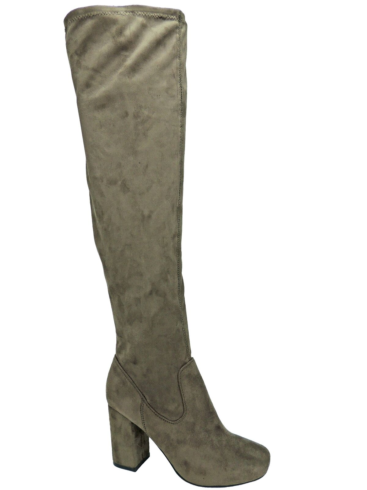 Carlos by Carlos Santana Women's Rumor Over-The-Knee Boots Taupe bluee Size 8.5 M