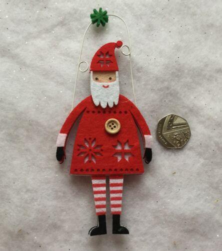 Rouge /& blanc scandi décoration de noël flocon de neige renne santa gisela graham