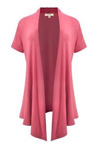Womens Dolman Sleeve Heather  Pattern Kimono Shrug Open Front Cardigan S,M,L,XL