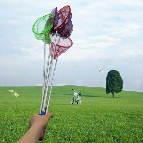Child Extendable Crab Net Telescopic Fishing Bug Butterfly Catcher Creative Lot