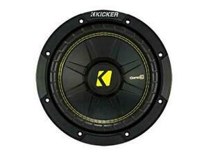 "2 Kicker 44CWCD84 Comp C Car Audio Subwoofer Dual 4 Ohm 8/"" Sub CWCS8 Pair New"