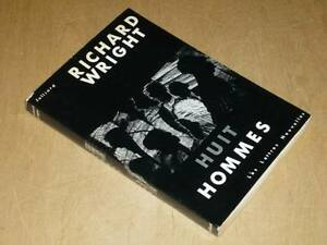 RICHARD-WRIGHT-HUIT-HOMMES-EO-Fr-Rare-ed-Lettres-Nouvelles-ex-numerote-1962
