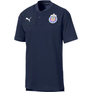 PUMA-Men-039-s-Chivas-de-Guadalajara-19-20-Polo-Navy-755912-01