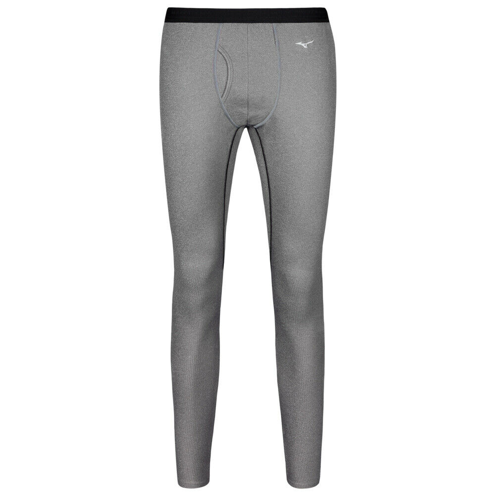 Mizuno  Thermo Wool Long Running Tight Sports Leggings 73CF376-90 Grey New  first time reply