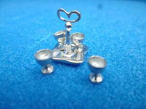 1/12 Scale Dolls House Miniature Oeuf Cruet 5 Pieces Tb85-afficher Le Titre D'origine