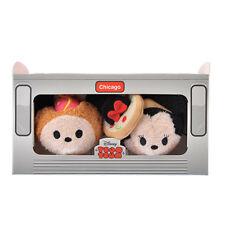 US Disney Chicago Mickey and Minnie Mouse Mini Tsum Tsum NIB!