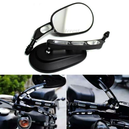 Edge Cut Rear View Mirror for Harley Dyna Softail Touring Road King VRSCAW V-ROD