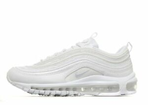 67153bb8d25 NIKE AIR MAX 97 OG QS   Triple White   Grey Women Girls Boys ...