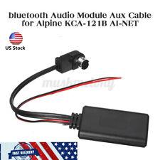 Bluetooth Aux Adapter cable For Alpine KCA-121B AI-NET CDA-9857 CDA-9886 CDA-117