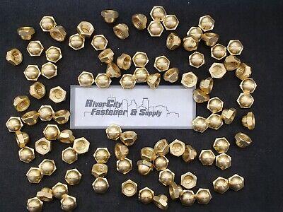 5//8-11 Brass Acorn 6 Cap Hex Nut 5//8 x 11 Nuts 5//8x11 Nut Dome