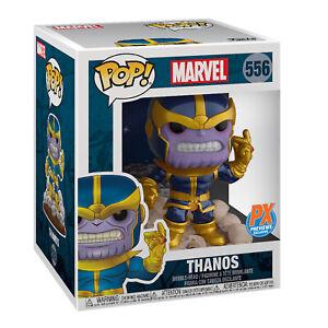 PX-Exclusive-Funko-Pop-Marvel-Heroes-THANOS-SNAP-6-034-DELUXE-VINYL-FIGURE-Endgame