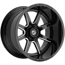 4 Gear Off Road 762bm Pivot 20x9 6x55 18mm Blackmilled Wheels Rims 20 Inch Fits More Than One Vehicle