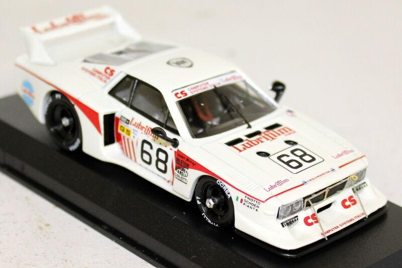 BEST 1 43 Scale - - - 9217 LANCIA BETA MONTECARLO LE MANS 1981 Finotto Pianta Sch 1f411b