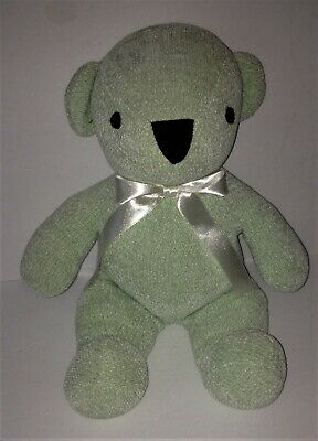 "Pottery Barn Kids 6/"" Frog Plush Light Green White PBK Stuffed Animal Lovey Xx"