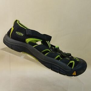 c949322a3bd2 Keen Men s Newport H2 Water Shoes in Black Lime Size 6 M  D23