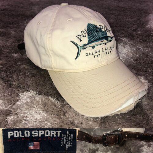 Vintage 1990s POLO SPORT Ralph Lauren Fishing Marl