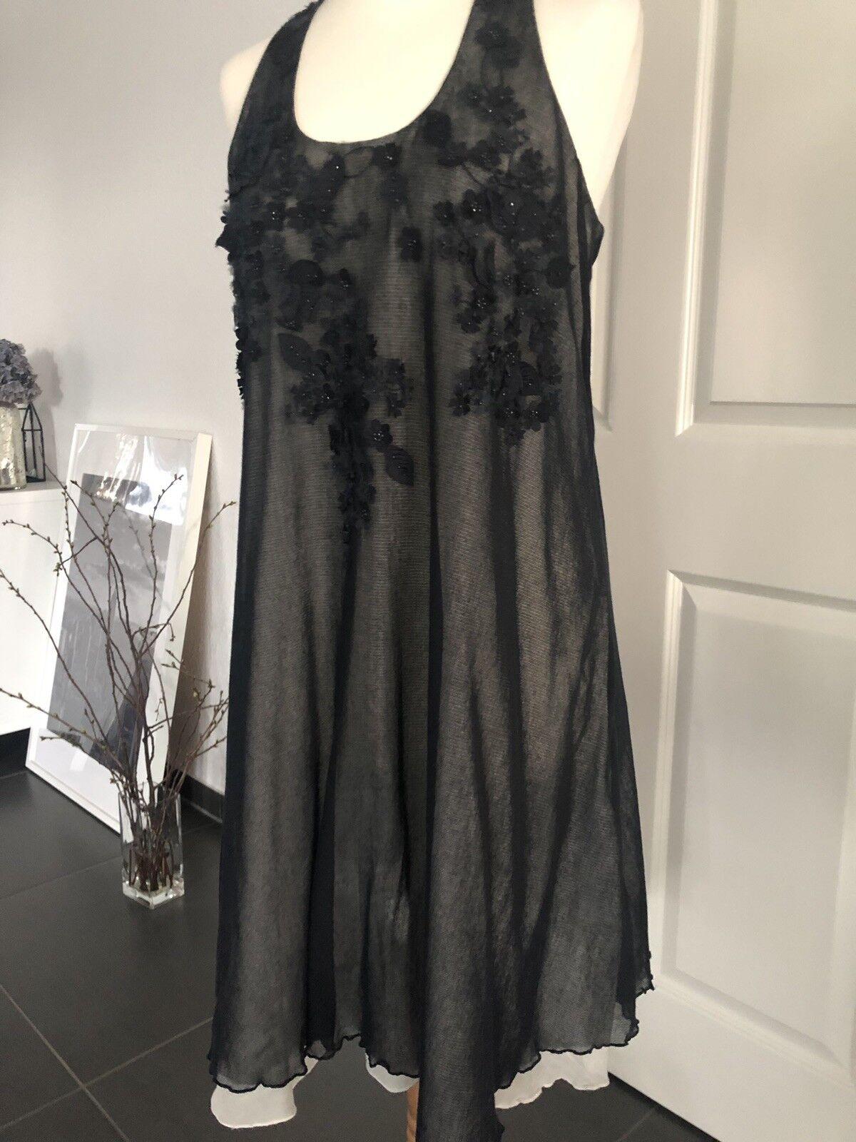 Dunkelblaues Kleid Von High Grösse 38