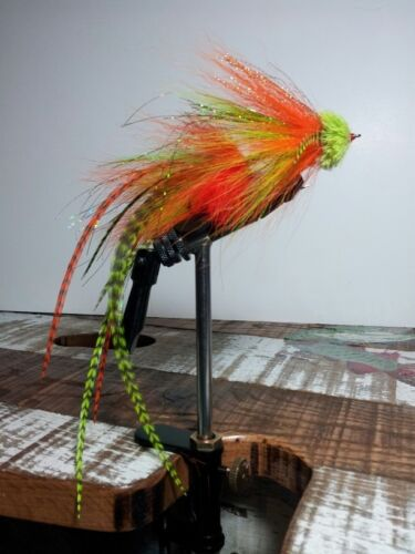 MUSKY FLIES articulated 5//0 hooks muskies muskie PROVEN fly fishing