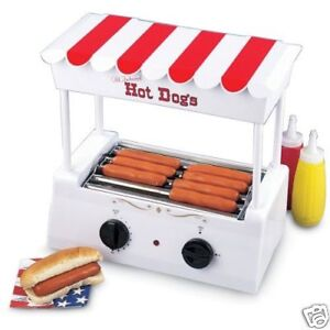 Old fashion hot dog roller 97