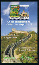 Aitutaki - China International Collection Expo 2013 Souvenir Sheet