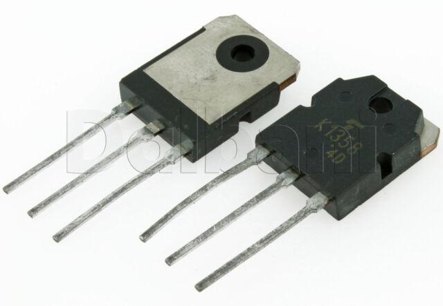 "2SK1358 /""Original/"" Toshiba MOSFET Transistor 2 pcs"