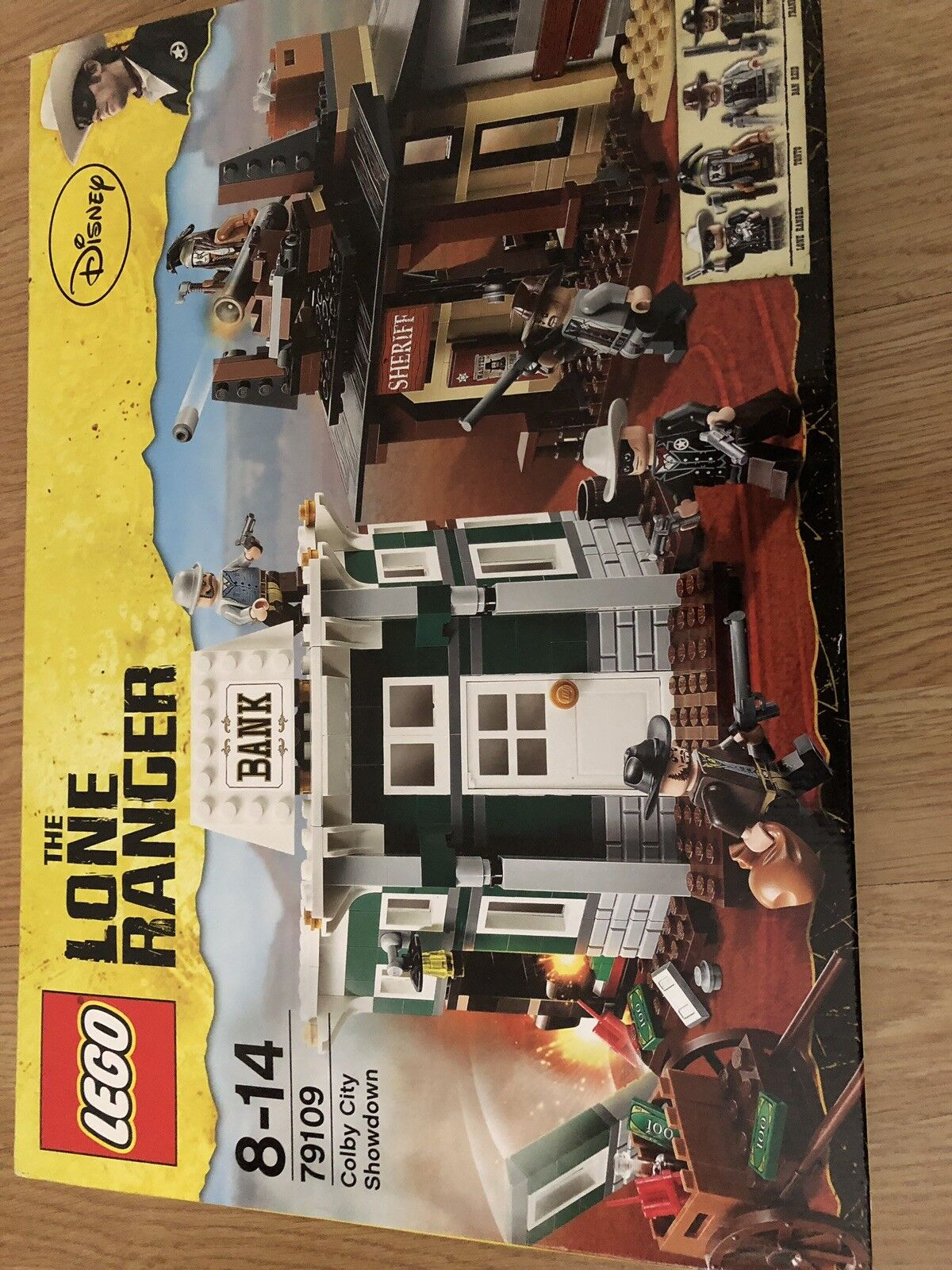 Lego 79109 The Lone Ranger Colby City Showdown Cowboy Bank Robbery