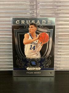 2019-20 Panini Prizm Draft Picks Crusade Tyler Herro #75 Rookie Miami Heat