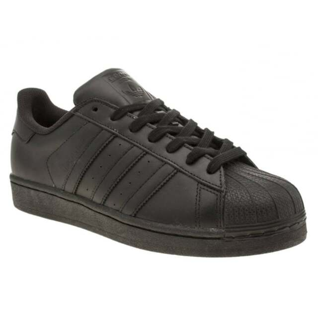 4b65cfb5595 adidas Originals Superstar Foundation Trainers in Core Black Af5666 ...