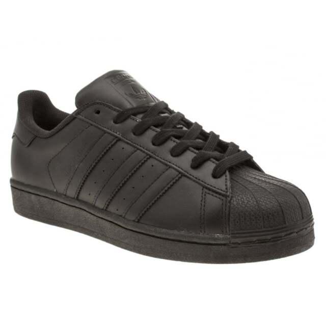 f2a918dd01a08 adidas Originals Superstar Foundation Trainers in Core Black Af5666 ...