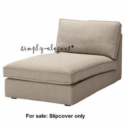 IKEA Kivik Chaise Cover Teno Light Gray Tenö Slipcover Retired Wool Blend | eBay  sc 1 st  eBay : kivik chaise lounge - Sectionals, Sofas & Couches