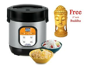 KENT 0.9 L Table top Rice Cooker 180 W With Buddha gift Kitchen Use UK Plug