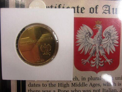25 Years of Pope John Paul II Government Issued Special-Edition 2-Zlotych Poland