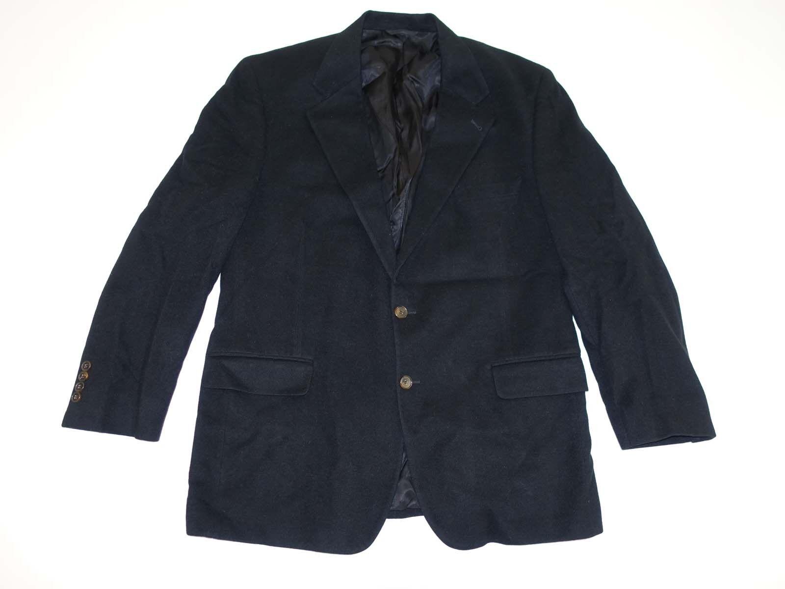 Flügelspitzen Bill Blass Herren 100% Kaschmir Sport Mantel Größe 44 Lang Schwarz    | Primäre Qualität  | Zuverlässige Qualität  | Hohe Qualität Und Geringen Overhead