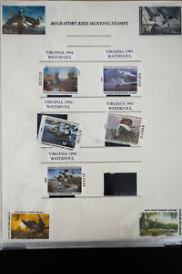 US-Duck-and-Migratory-Bird-Hunting-Habitat-Stamp-Collection