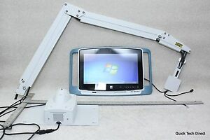 Elo-All-in-One-Touch-Medical-Computer-ESY19M2-w-Hospital-TV-Support-Arm
