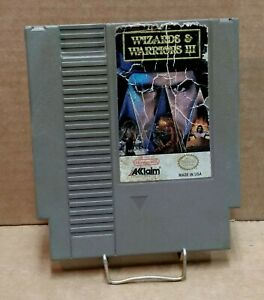 Wizards-amp-Warriors-III-3-Cart-Only-Nintendo-NES-FREE-SHIPPING
