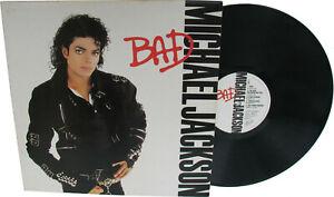 Michael-Jackson-BAD-Album-Disque-33t-12-034-LP-Vinyl-Record-Disc-1987