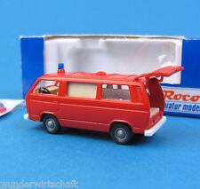 Roco H0 1377 VW T3 Bus Feuerwehr Ambulanz Krankenwagen RTW KTW HO 1:87 OVP