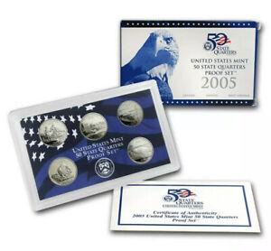 2005-United-States-Mint-50-State-Quarters-Proof-Set