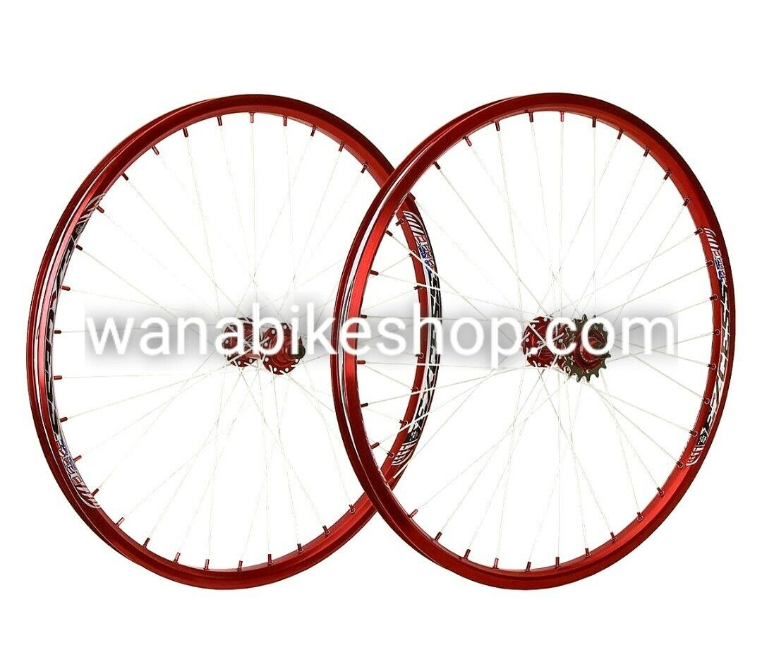 EXCESS 351 WHEELSET 24 X1.75   RED  up to 70% off
