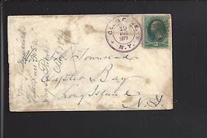 GLEN-COVE-NEW-YORK-1879-BANKNOTE-COVER-MALTESE-FANCY-CANCEL-NASSAU-1834-OP