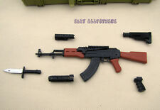 1/6 BattleField 1 AKM AK47 BLACK Assault Rifle Assemble Modern Warfare NO CASE