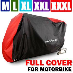 M-XXXL-Motorcycle-Bike-Cover-Waterproof-Rain-Dust-Outdoor-Protector-Storage-Red