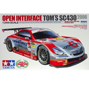 Tamiya-24293-Open-Interface-Tom-039-s-SC430-2006-1-24