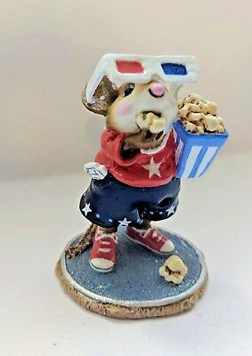 Wee Forest Folk Mousie S Matinee Fourth Of July Special M 288 Retired Ebay