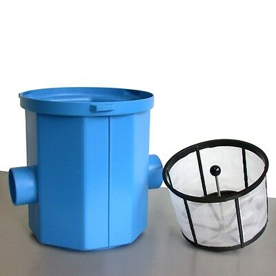 3P Simplexfilter SPF mit Filterkorb und Entnahmestange Einbaufilter Zisterne